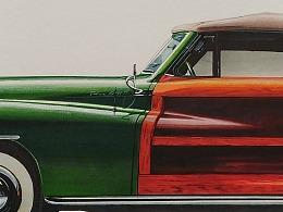 Chrysler 克莱斯勒 / 马克笔手绘