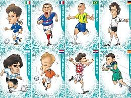 【漫画】世界杯传奇球星系列合集A-D组