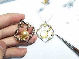 金秋十月代波军工作室异形珍珠作品欣赏