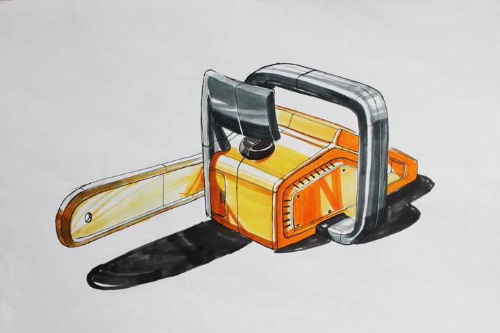 产品手绘|工业/产品|工业用品/机械|不惊1107 - 原创