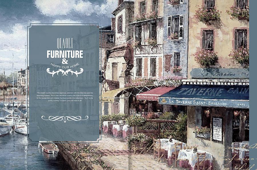 小美式青少年全套画册|家具/家具|平面|wufenov全套画册书装图片