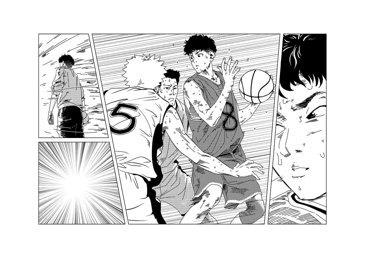《篮球BASKETBALL》原创青春漫画校园第漫画鬼潇潇版图片