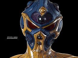 【强殖装甲 Zcool man】——角色表现-Z侠
