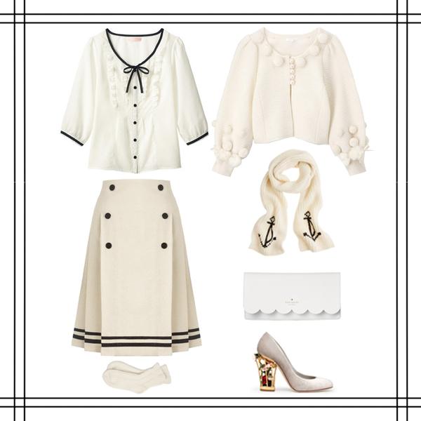 女生秋冬服装搭配8|其他平面|平面|呆萌得