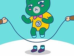 TGIF哎呦熊插图