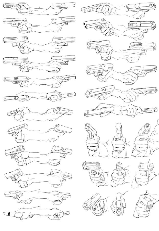 教你画好动态手部-插画漫画参考|教程|教兽寄生漫画迅雷图片