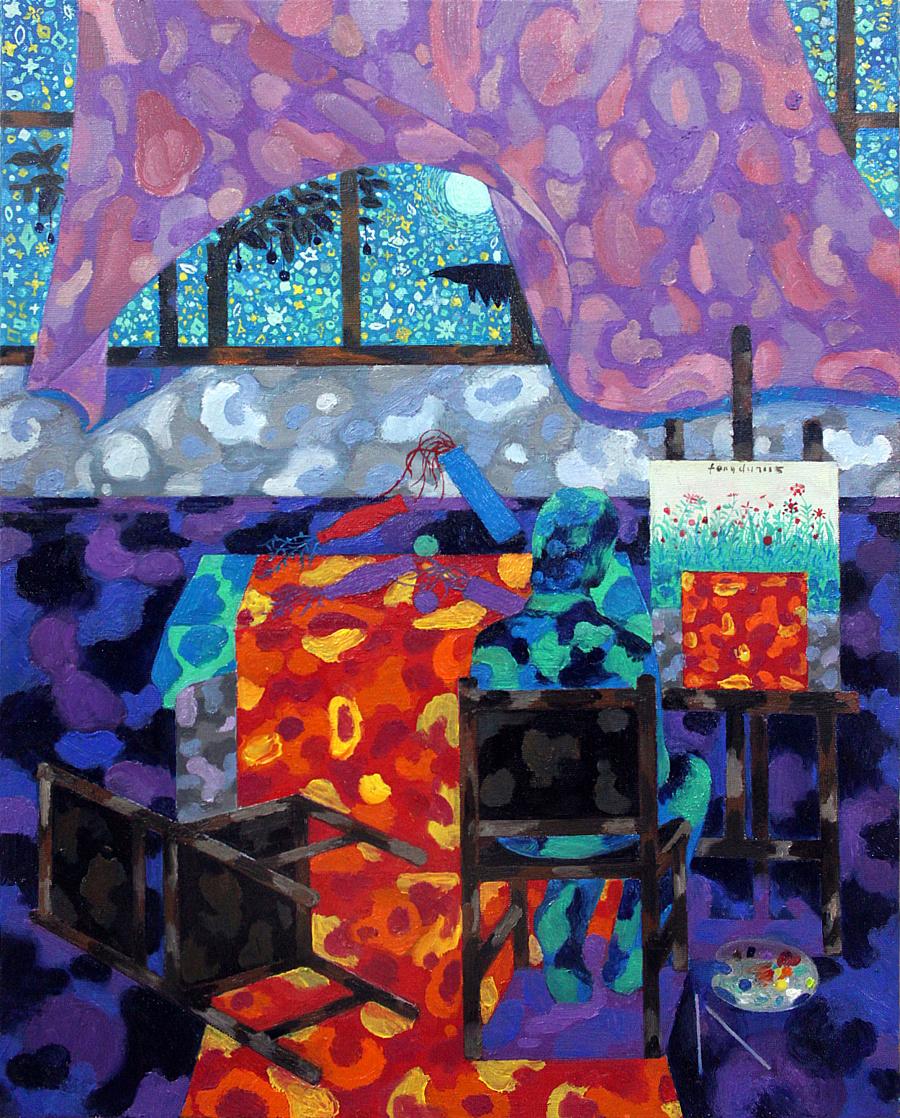 查看《《渡·門》系列春夏之季最新作品十幅》原图,原图尺寸:2150x2671