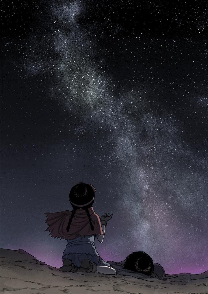 黑光世界#3 仰望星空图片