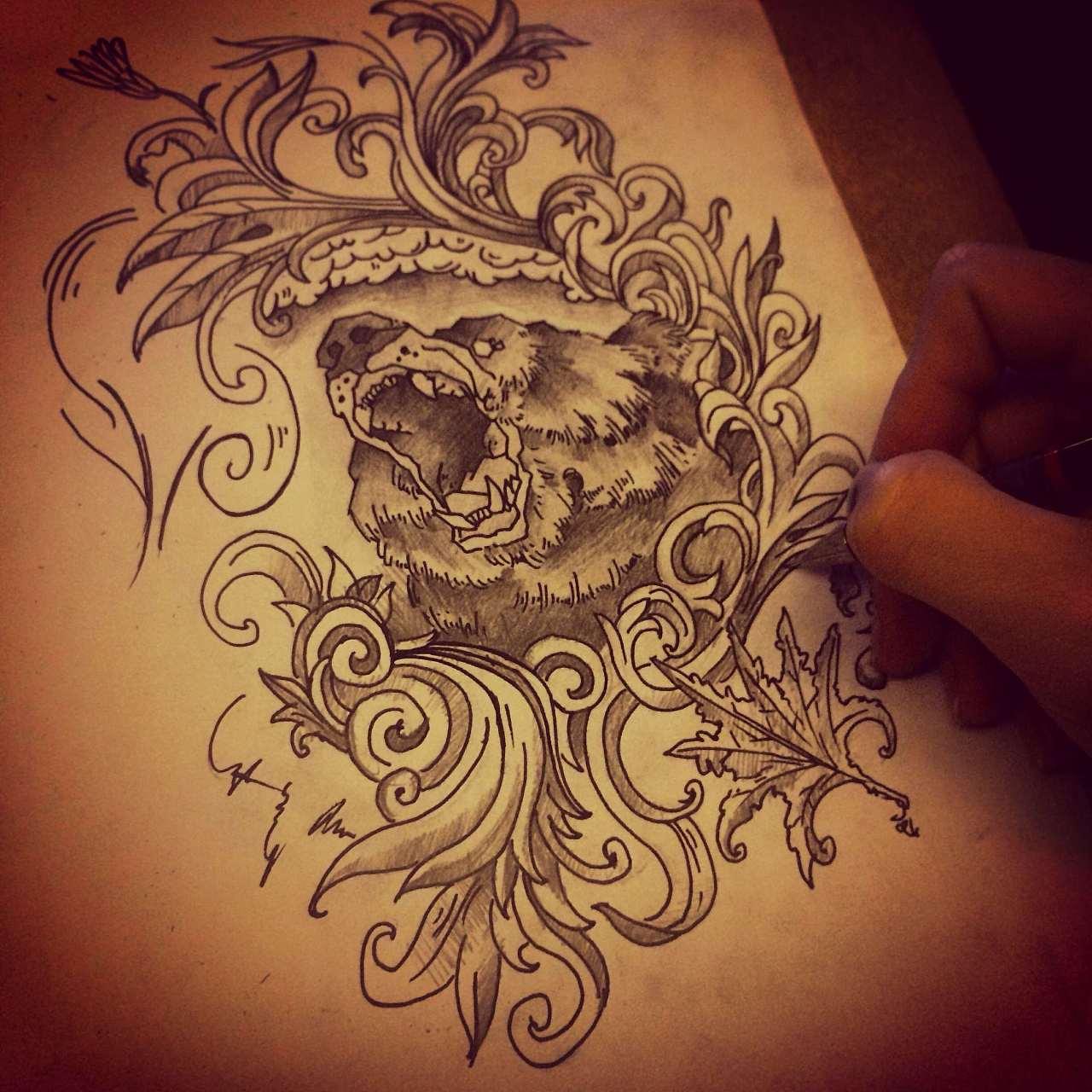 纹身图案设计
