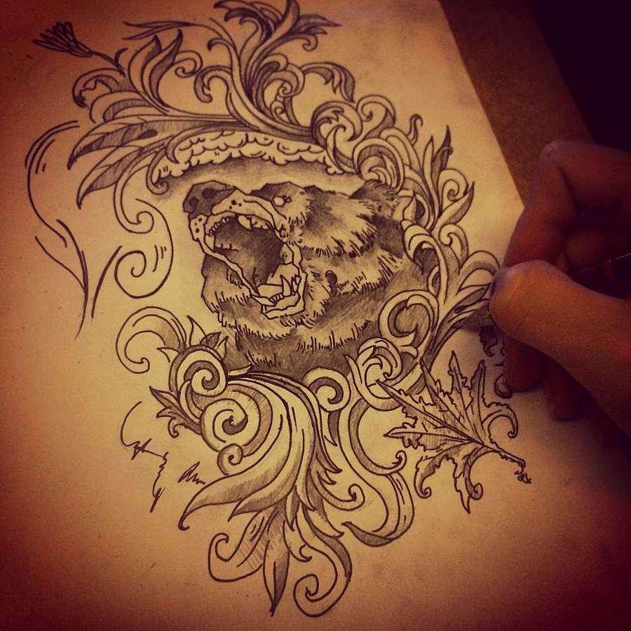原创作品:纹身图案设计
