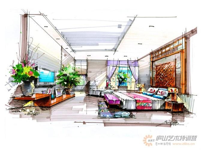 【庐山艺术特训营】尚院长手绘作品|空间|室内设计|特
