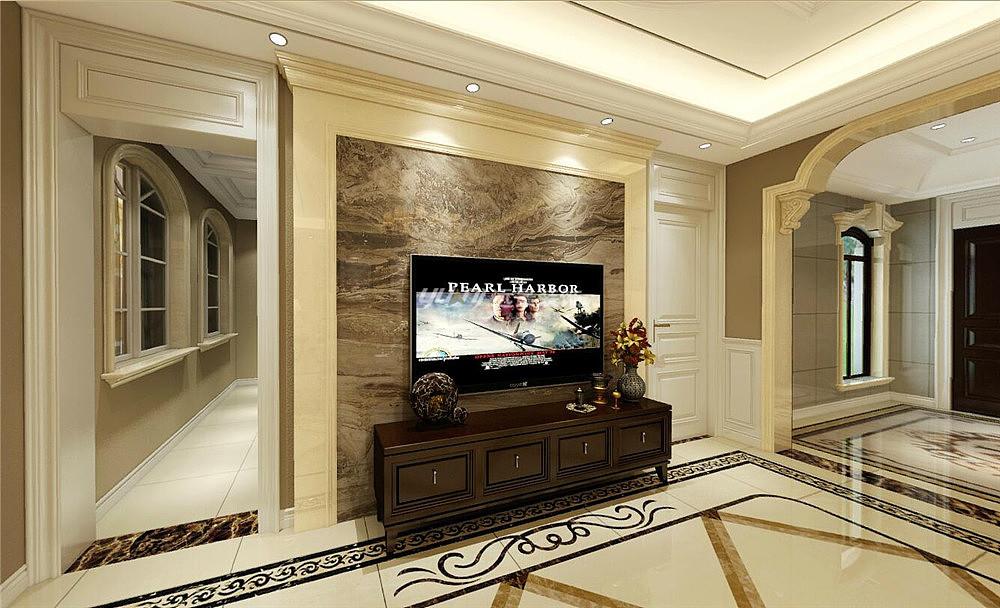中航别墅城底跃230平欧式风格装修设计-渝北洋康荣翡翠图片