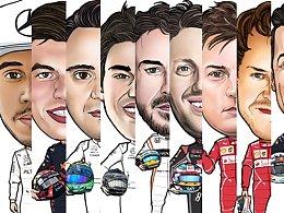 2017 F1赛车手