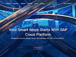 redesign-SAP官网