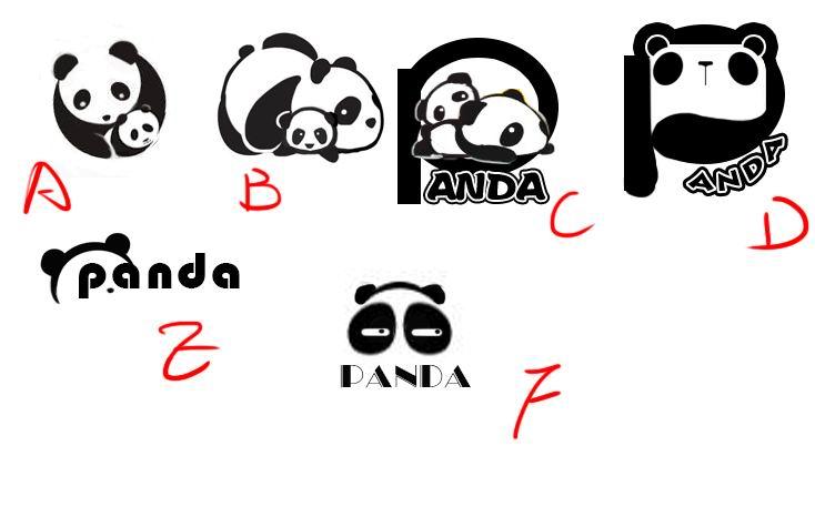 熊猫logo已商用图片
