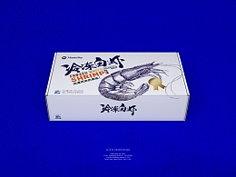 【MantaBay墨西哥冷冻白虾】海鲜包装 by 澜帝品牌设计