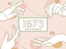1675 PÂTISSERIE Branding