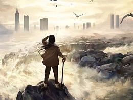 网剧《一人之下》冯宝宝概念海报