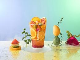 一杯仙气十足的奶茶丨悸动烧仙草 饮品 广告 奶茶摄影