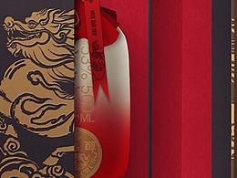 马龙醇白酒包装设计 新道设计天则创意 龙马精神包装
