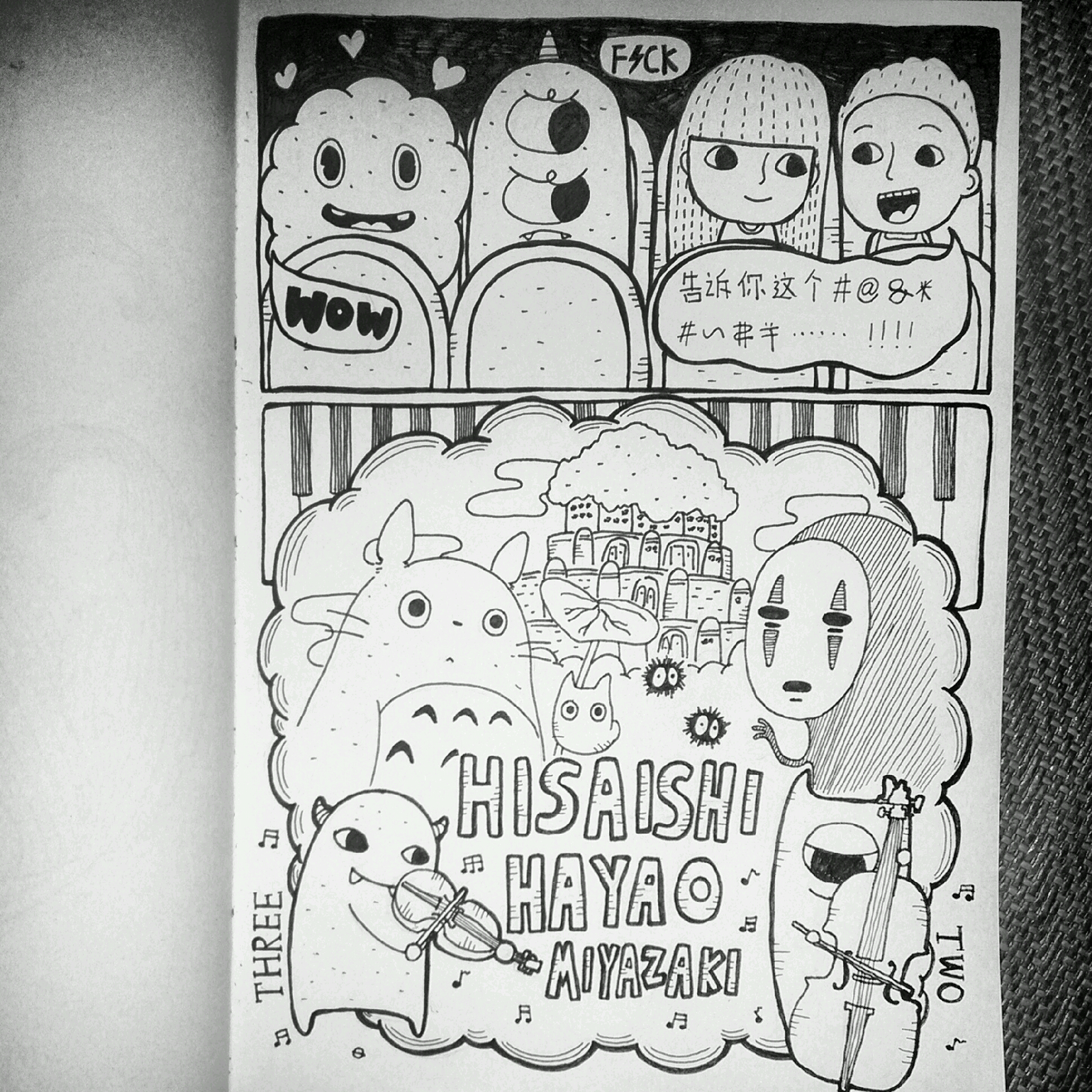 手绘日记|插画|涂鸦/潮流|minorplanet - 原创作品