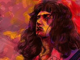 Queen的贝斯手John Deacon