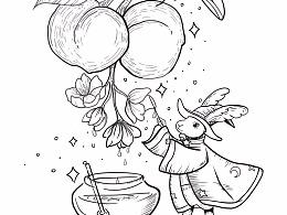 兔子法师与蜂蜜与杏桃