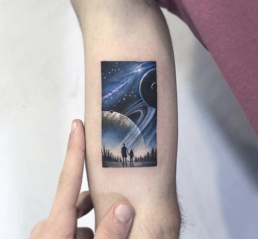 2019/5/14 12:07:23 色彩创意性纹身传统纹身以及黑