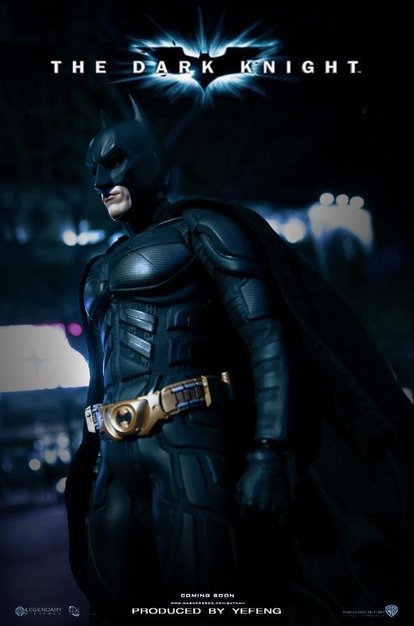 BATMAN JOKER 蝙蝠侠黑暗骑士,还原电影小丑场景