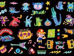 儿童纹身贴图案设计