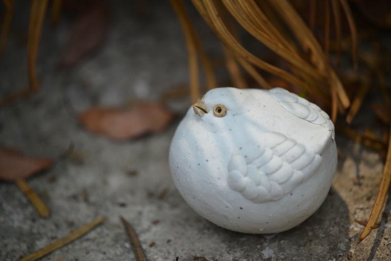招福鸟胖鸟 陶瓷动物雕塑原创设计