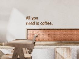 现代咖啡店