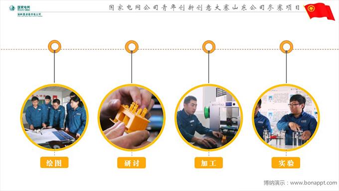 博纳演示-国家电网公司青年创新创意大赛山东
