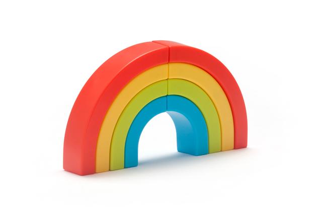 彩虹马克笔