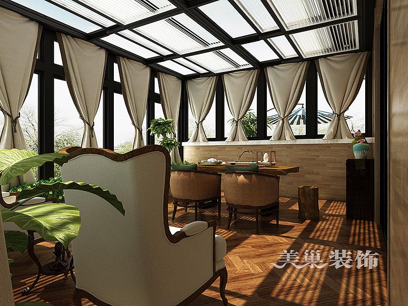 恒升壹号庄园410平方别墅装修设计效果图 空间 室内图片