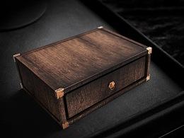 【木器·匠心(一)】木盒包装 by 小狼君 Langcer Lee