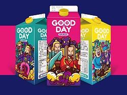 GOOD DAY饮品包装设计