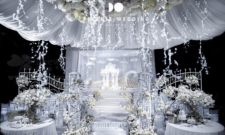 婚礼手绘——静谧蓝