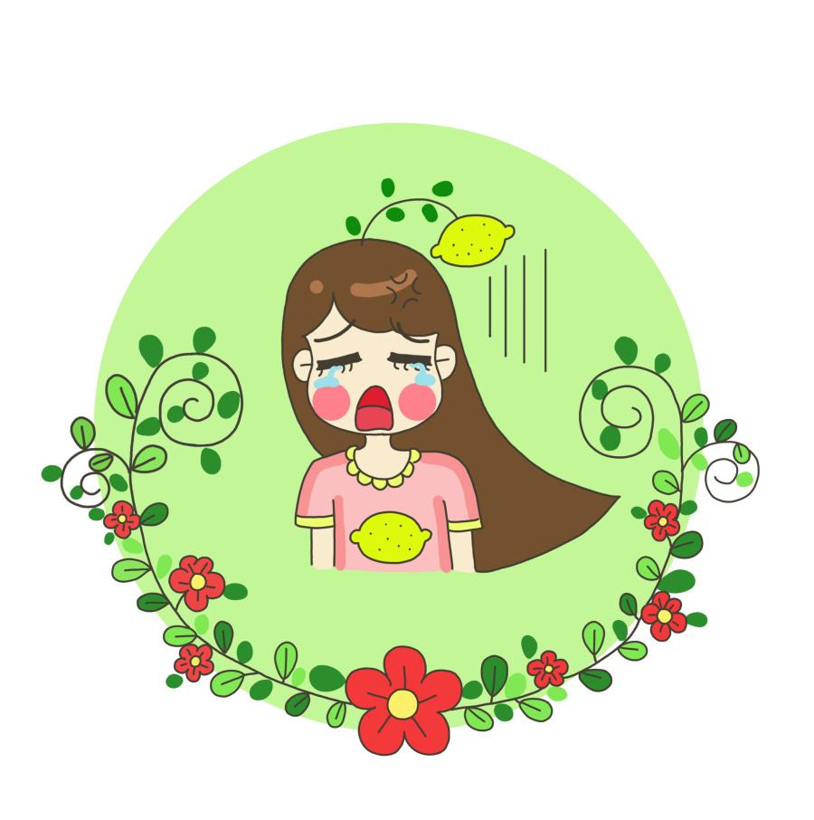 同学柠檬的漫画1|单幅柠檬|漫画|M动漫m-原表情炼丹图片