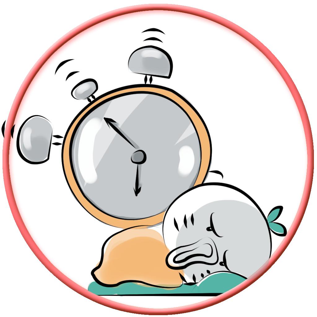 动漫 卡通 漫画 时钟 头像 钟表 1024_1024