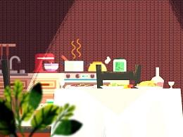 很久以前的动画广告的美术概念2018送彩金白菜网大全