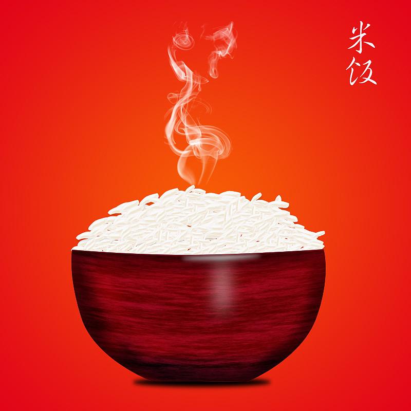 PS鼠绘一碗米饭的制作