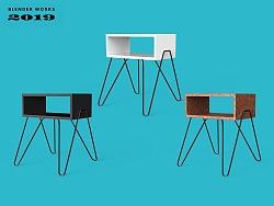 BLENDER WORKS × 极简小书桌