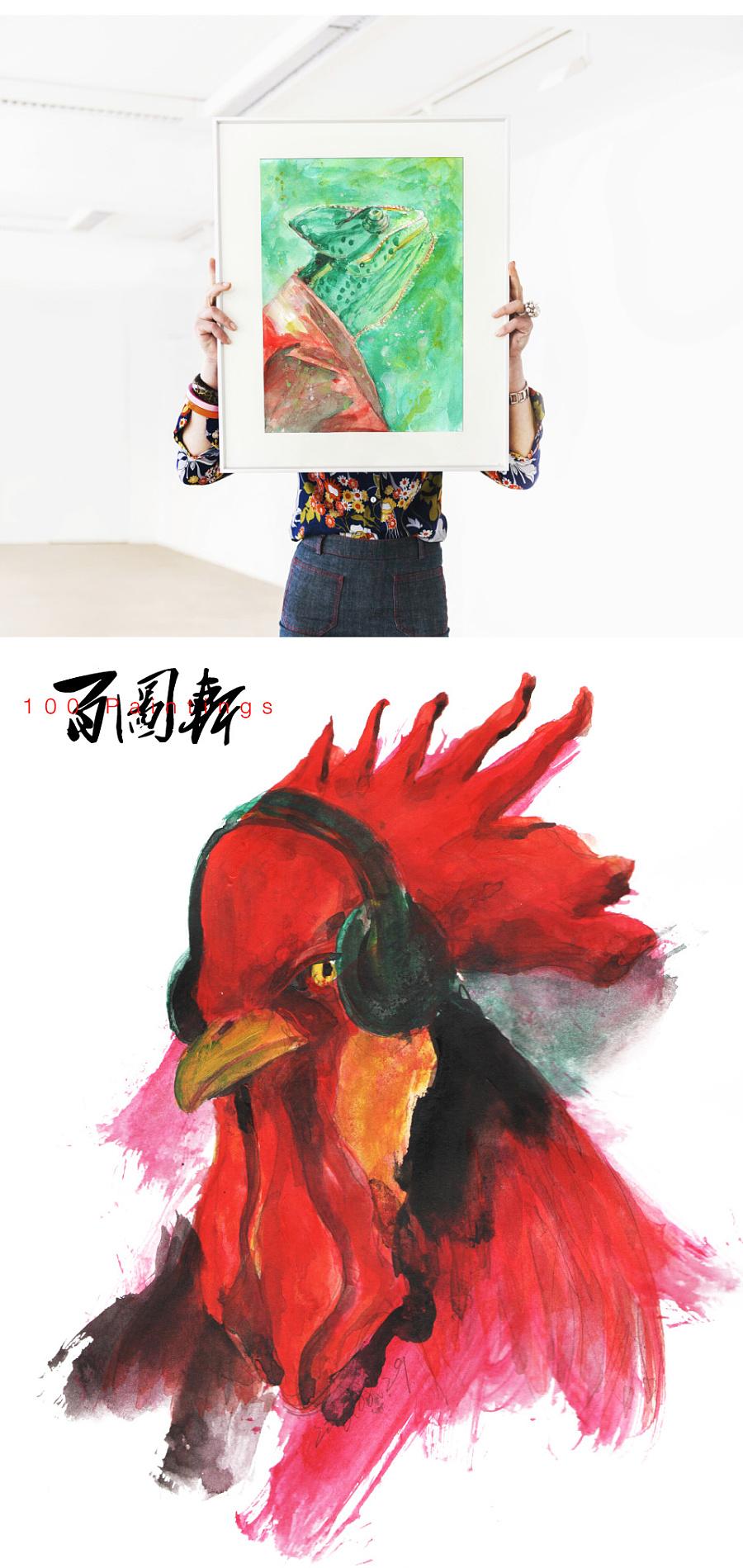 查看《百图斩|拟人化动物形象绘画》原图,原图尺寸:960x2026