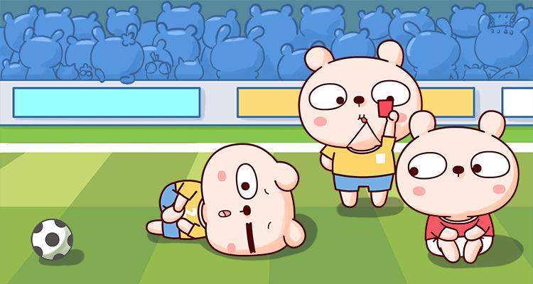 冷兔动漫足球篇--微信表情|宝宝表情|网络|冷兔女朋友的图送表情包套图片