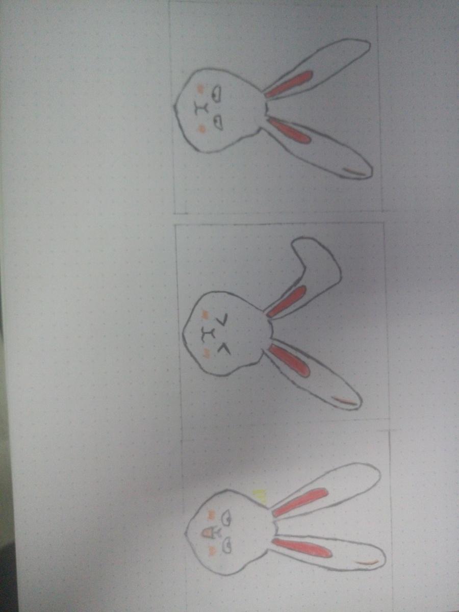 手绘简单的小表情包图片