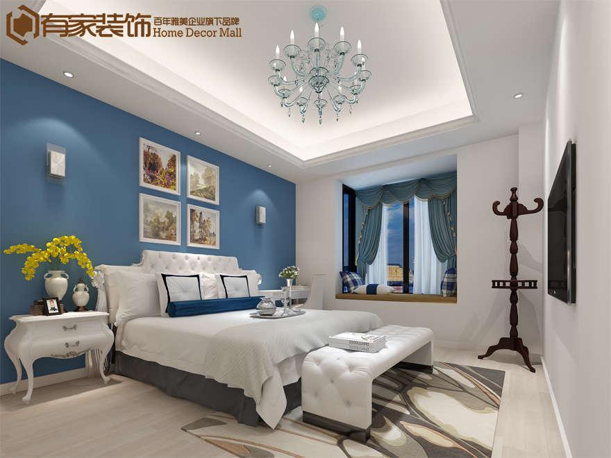 厦门特房美地雅登128平欧式风格装修效果图|室内设计