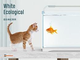 星湖水族 造景鱼缸 详情页渲染+设计案例分享