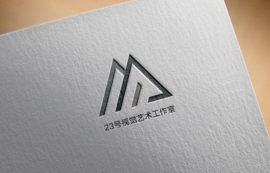 23号视觉艺术工作室LOGO/模具/海报设计[之二北京名片设计师图片