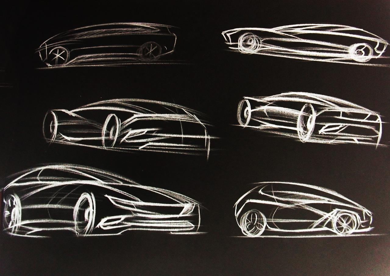 产品手绘 汽车|纯艺术|彩铅|李家麦兜兜 - 原创作品